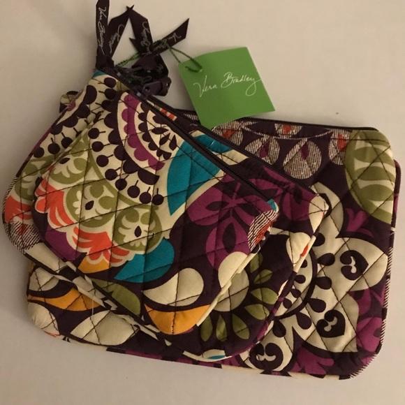 Vera Bradley Handbags - Vera Bradley Travel/Cosmetic Bags NEW